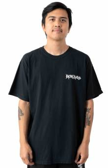 Iconic Garment Dyed Pocket T-Shirt - Black
