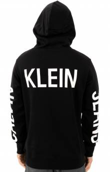 Institutional Back Logo Pullover Hoodie - Black