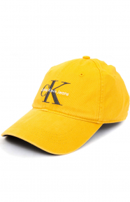 Pop Color Twill Logo Dad Hat - Spectra Yellow