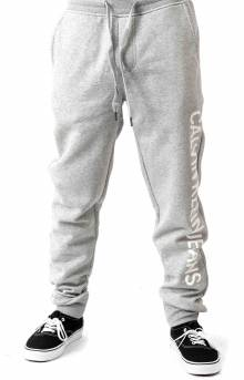 Vertical Logo Sweatpant - Charcoal