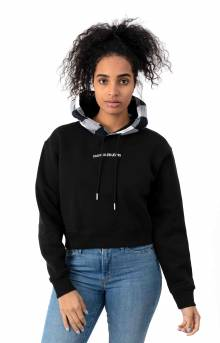 Buffalo Check Pullover Hoodie - CK Black