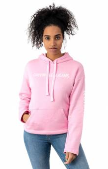 Calvin Classic Pullover Hoodie - Prism Pink