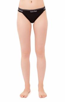 Modern Cotton Tanga - Black