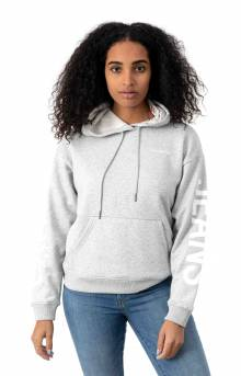 Travel Logo Pullover Hoodie - Med Charcoal HT