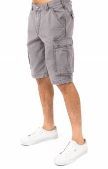 (100277) Rugged Cargo Camo Shorts - Gravel