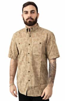 (103555) Rugged Flex Rigby S/S Work Shirt - Dark Khaki/Duck Camo