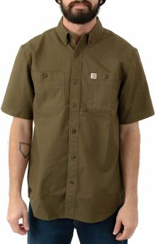 (103555) Rugged Flex Rigby S/S Work Shirt - Military Olive