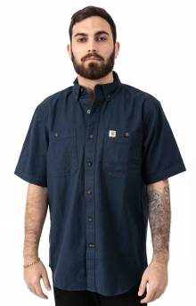 (103555) Rugged Flex Rigby S/S Work Shirt - Navy