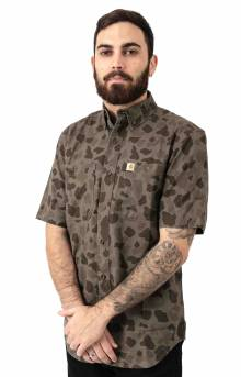 (103555) Rugged Flex Rigby S/S Work Shirt - Tarmac/Duck Camo