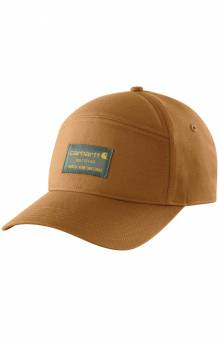(104189) Rugged Flex Canvas Built To Last Graphic Cap - Carhartt Brown