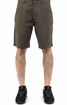 (104195) Rugged Flex Loose Fit Canvas Work Shorts - Tarmac