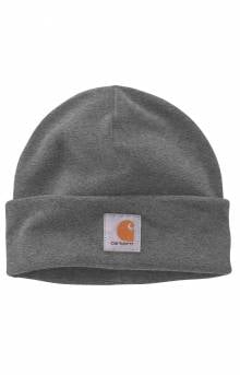 (104488) Fleece Beanie - Charcoal Heather