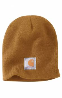 (A205) Acrylic Knit Hat - Carhartt Brown