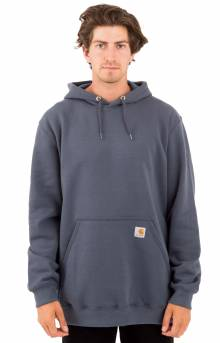 (K121) Midweight Pullover Hoodie - Blue Stone