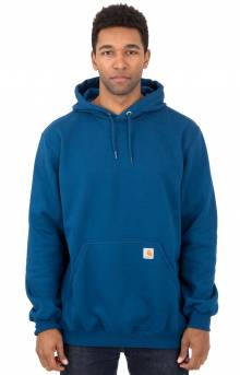 (K121) Midweight Pullover Hoodie - Superior Blue