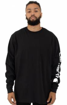 (K231) Signature Sleeve Logo L/S Shirt - Black