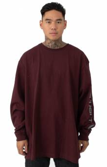(K231) Signature Sleeve Logo L/S Shirt - Port