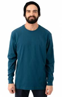 (K231) Signature Sleeve Logo L/S Shirt - Stream Blue