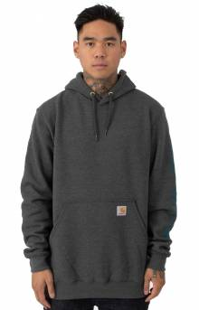 (K288) MW Signature Sleeve Logo Pullover Hoodie - Antique Nickel