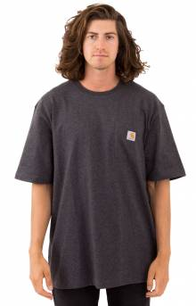(K87) Workwear Pocket T-Shirt - Carbon Heather