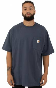 Carhartt, (K87) Workwear Pocket T-Shirt - Navy