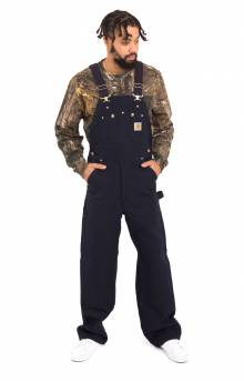 (R01) Duck Bib Overalls Unlined - Dark Navy