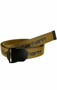 Signature Webbing Belt - Gold
