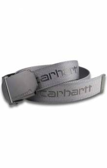 Signature Webbing Belt - Steel