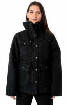 (102247) Weathered Duck Wesley Coat - Black