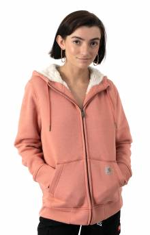 (102787) Clarksburg Sherpa Lined Hoodie - Aragon Heather