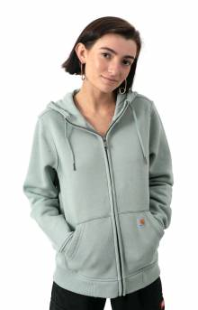 (102788) Clarksburg Full Zip Hoodie - Bay Green Heather