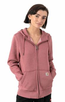 (102788) Clarksburg Full Zip Hoodie - Claystone Heather