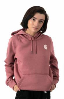 (102791) Clarksburg Graphic Sleeve Pullover Hoodie - Claystone Heather