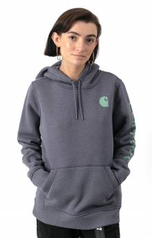 (102791) Clarksburg Graphic Sleeve Pullover Hoodie - Graystone Heather