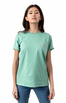 (103067) WK87 Workwear Pocket T-Shirt - Botanic Green