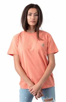 (103067) WK87 Workwear Pocket T-Shirt - Coral Haze Heather