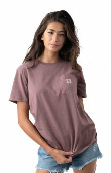 (103067) WK87 Workwear Pocket T-Shirt - Raisin Heather