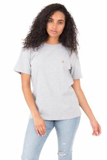 (103067) Workwear Pocket T-Shirt - Heather Grey