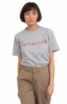 (103592) WK195 Workwear Logo T-Shirt - Heather Grey