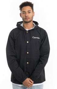 Carrots Clothing, Carrots Hooded Coach Jacket - Black