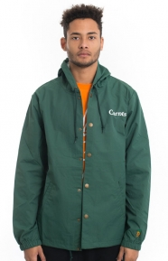 Carrots Clothing, Carrots Hooded Coach Jacket - Green