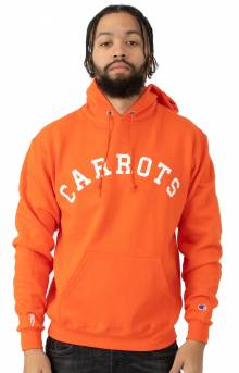 Champion Collegiate Pullover Hoodie - Orange