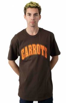 Collegiate T-Shirt - Brown