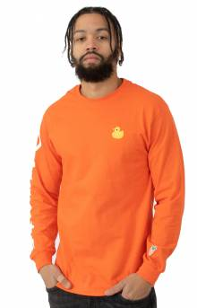 Duck L/S Shirt - Orange