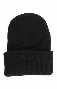 Carrots Clothing, Logo Heavyweight Beanie - Black
