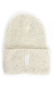 Carrots Clothing, Logo Heavyweight Beanie - Natural