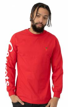 Logo L/S Shirt - Red