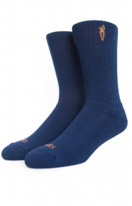 Carrots Clothing, Logo Socks - Navy