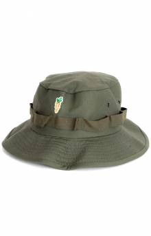 Patch Bucket Hat - Green