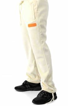 Sport Reverse Fleece Sweatpants - Ivory